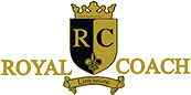 Royal Coach Limousine – Weddings, Airport and Party Bus Rental Logo